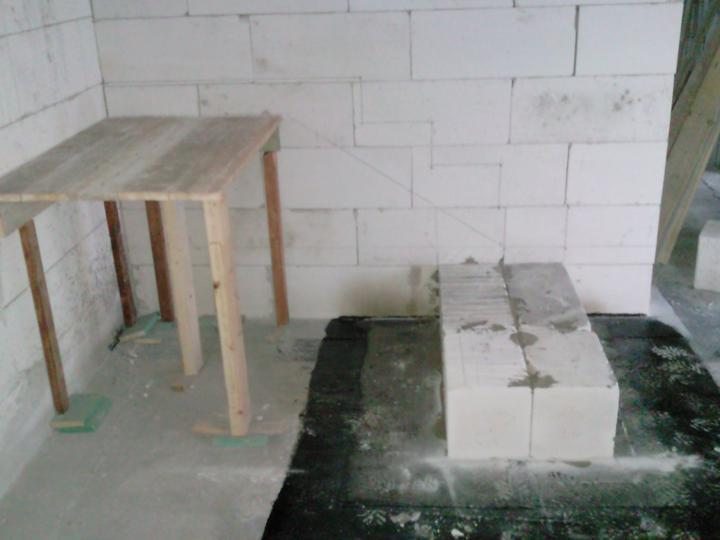 PASÍVNY DOM lachko ze srandu a samí (čize za lacáka) - izolovanie zakladu schodov od betonu ytongom
