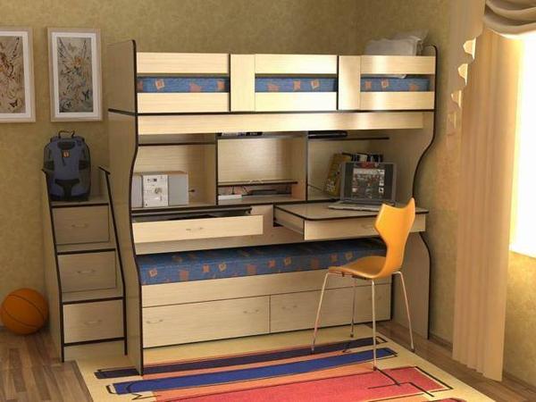 Palandy nebo norm ln postele d tsk pokoj Maximise storage small bedroom