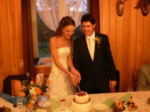 ...klasika  s dortíkem....