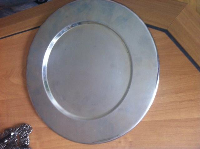 Postriebrené taniere - Obrázok č. 1