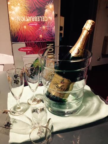 Súprava na šampanské - Obrázok č. 1