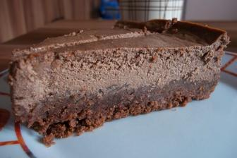 Čokotvarohový koláč