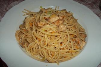 Špagety ála čínské nudle