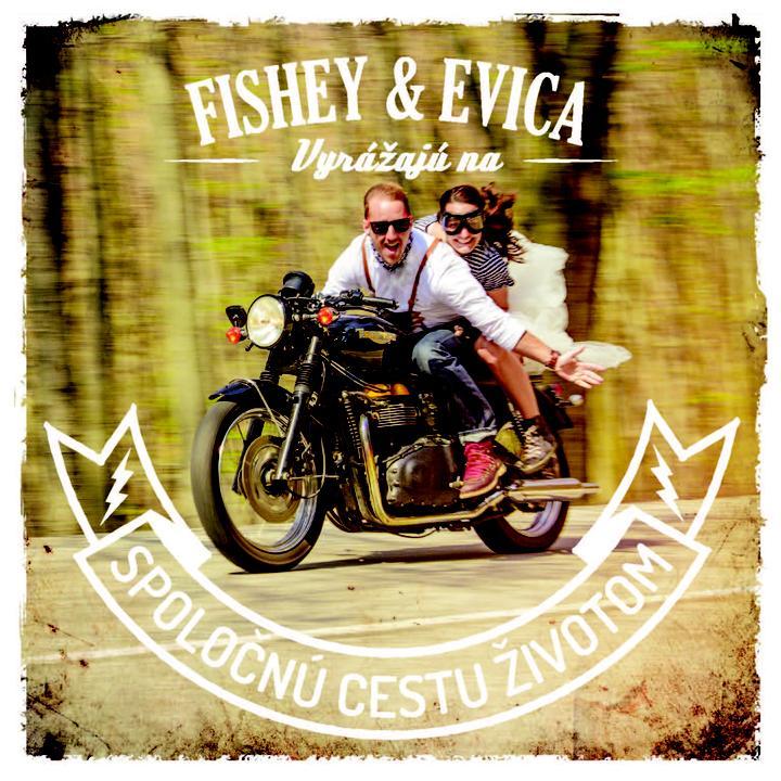 Evica{{_AND_}}Fishey - ...takto sme oznamovali, ze sa ideme brat...nas Bonnevile zapozoval najlepsie:))