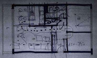 Návrh rekonštrukcie kamoškou architektkou.