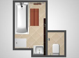 Vizualizácia kúpelne - robili mi ju v Robkerku, odkiaľ som aj všetko objednávala, vrelo odporúčam.