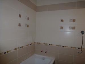 Kúpelňa - nedokážem sa na ten obklad vynadívať :o)
