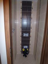 WC - verzia s osadenou zárubňou a dverami.