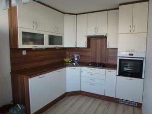 Moja vysnívaná kuchyňa je na mieste :o)