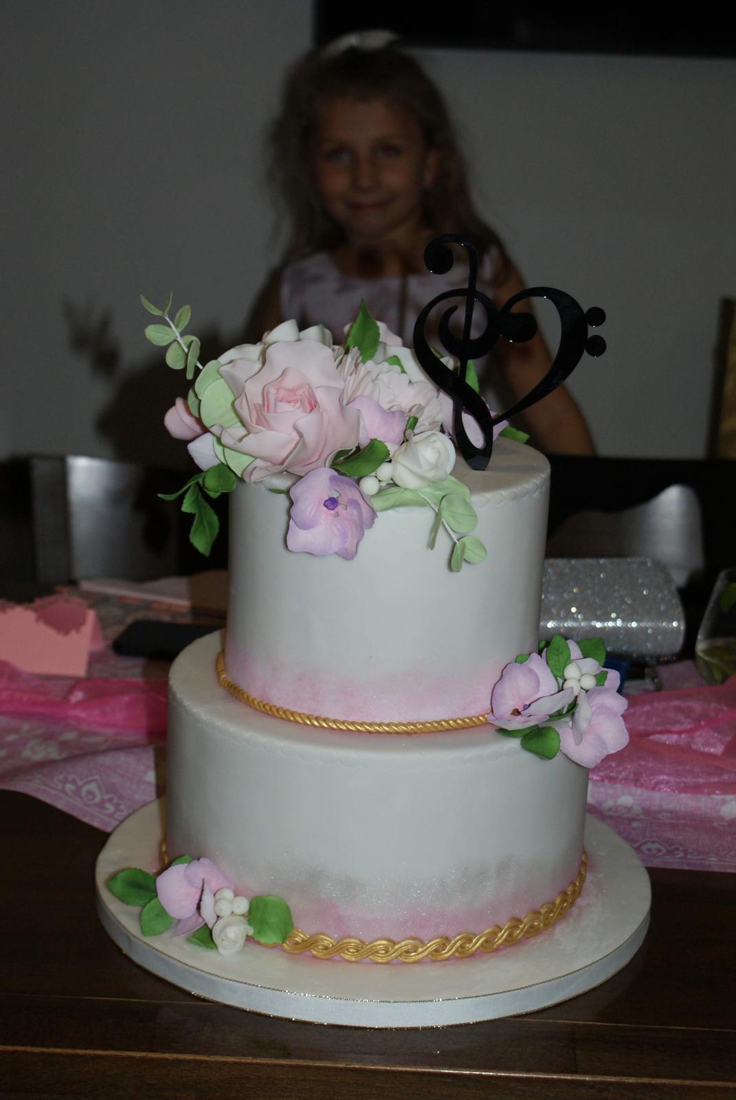 Ivka{{_AND_}}Jožko - Vynikajúca tortička aj s malou modelkou ;-)