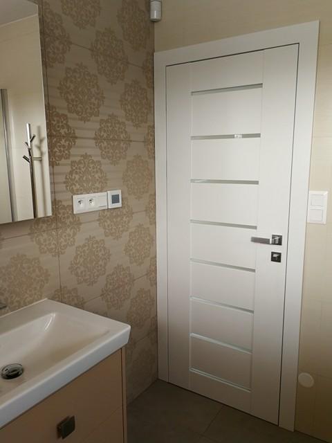 Zařizujeme - Spodní koupelna, dveře Trend laminát