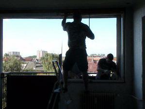 a takhle se dělají nová okna