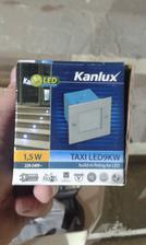 20 kusov Kanlux TAXI LED na osvetlenie celého schodika zo suterénu až na poschodie