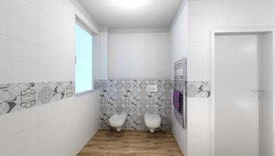Návrh SIKO - kúpelňa prízemie