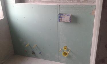 30.6.2016 - Obloženei obstavby WC sadrokartónom