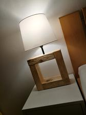 28.2.2018 - Hand made/Ikea  JÄRA nočná lampa ;-)