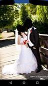 Svadobné šaty svadobné šaty s katedrálnou vlečkou, 36