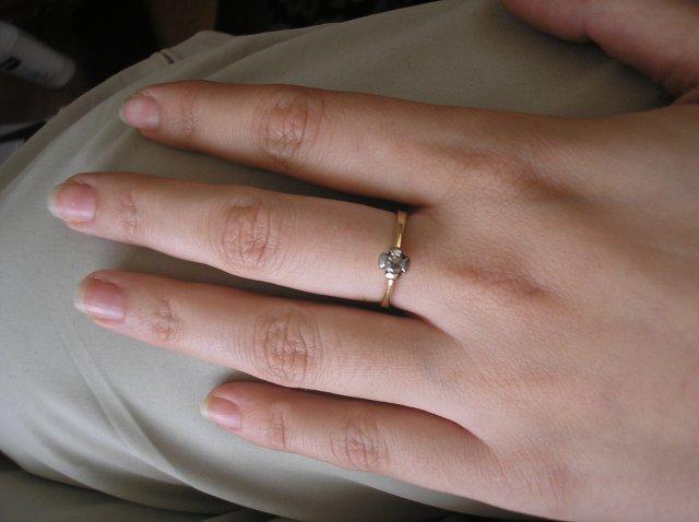 Prípravy na 2.5.2009 Janka a Ondrej - Na mojej ruke