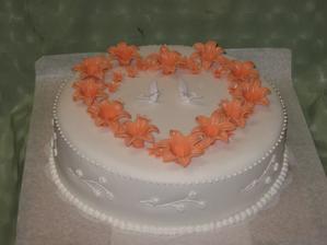 Veľmi pekná jednoduchá torta