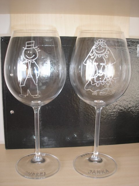 Prípravy 2.5.2009 2.časť - Naše poháre - vlastná výroba