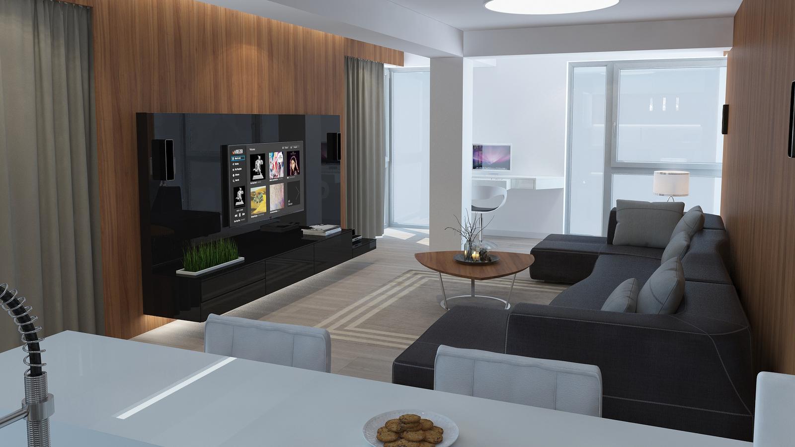 Návrh interiéru bytu - Kondominium Bojnice - Obrázok č. 4