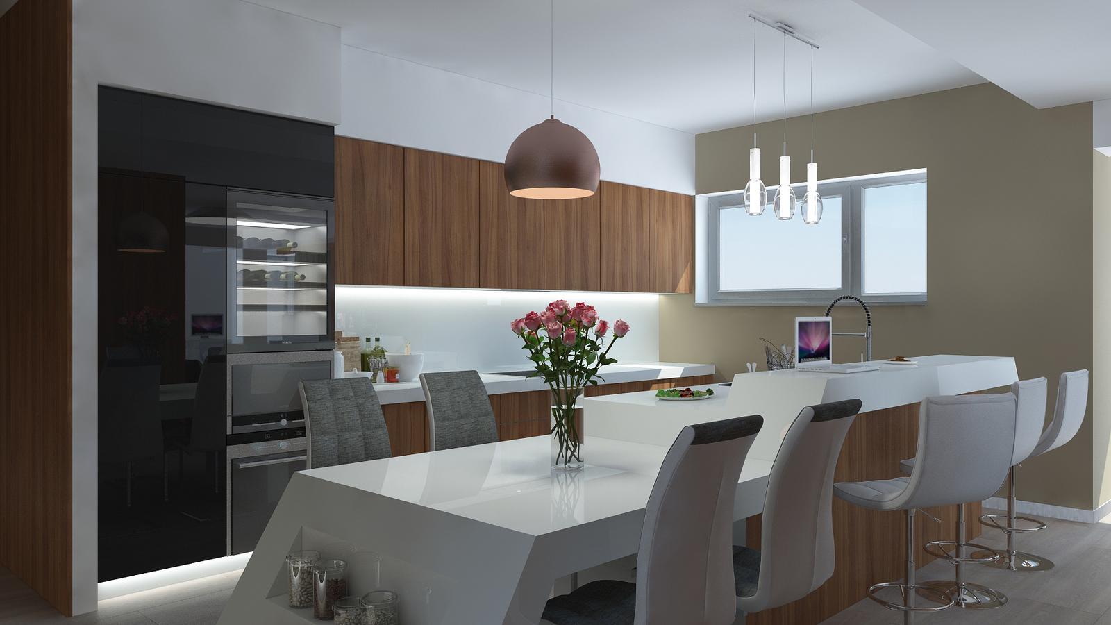 Návrh interiéru bytu - Kondominium Bojnice - Obrázok č. 1