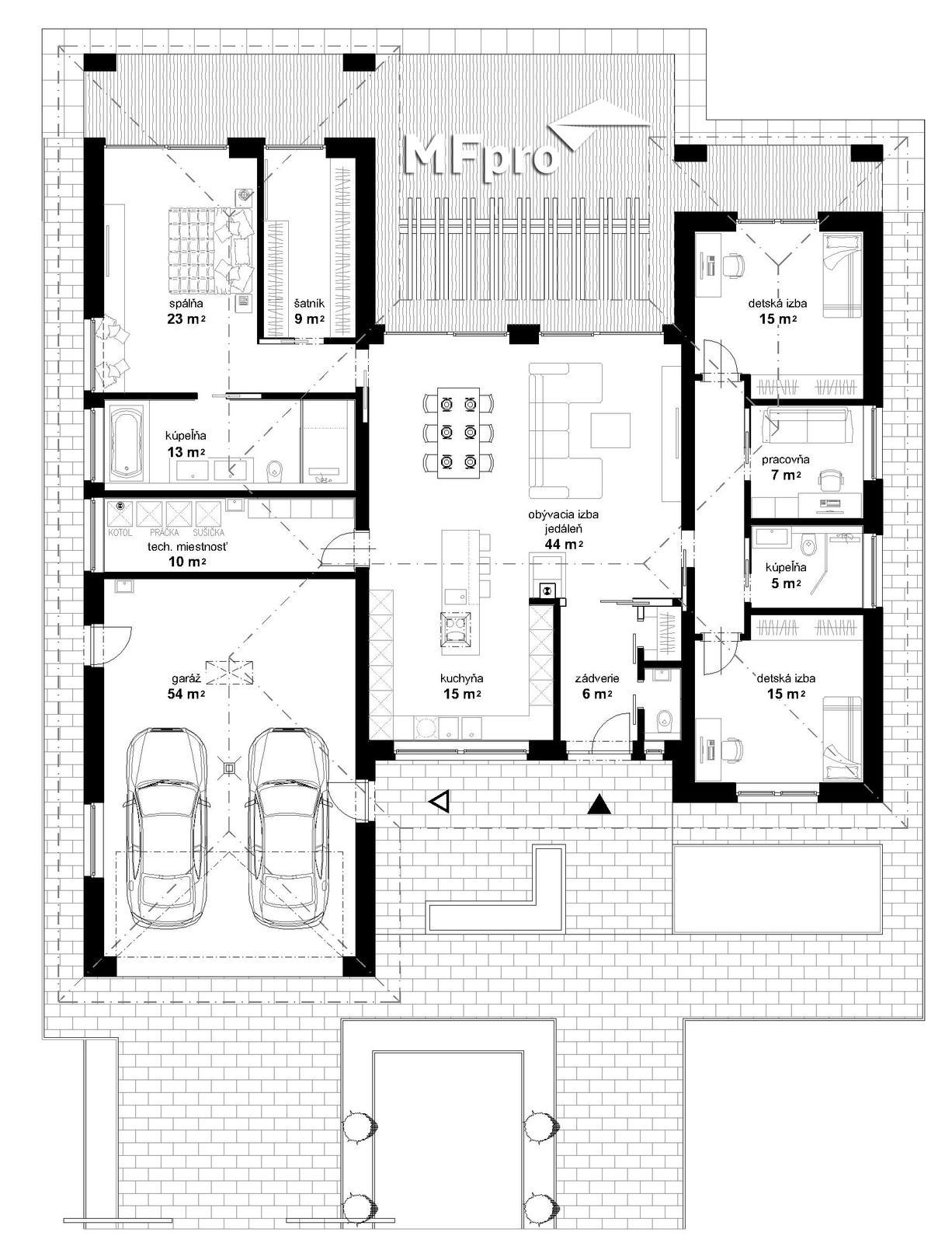 Individuálny rodinný dom CALIFORNIA - Individuálny rodinný dom CALIFORNIA