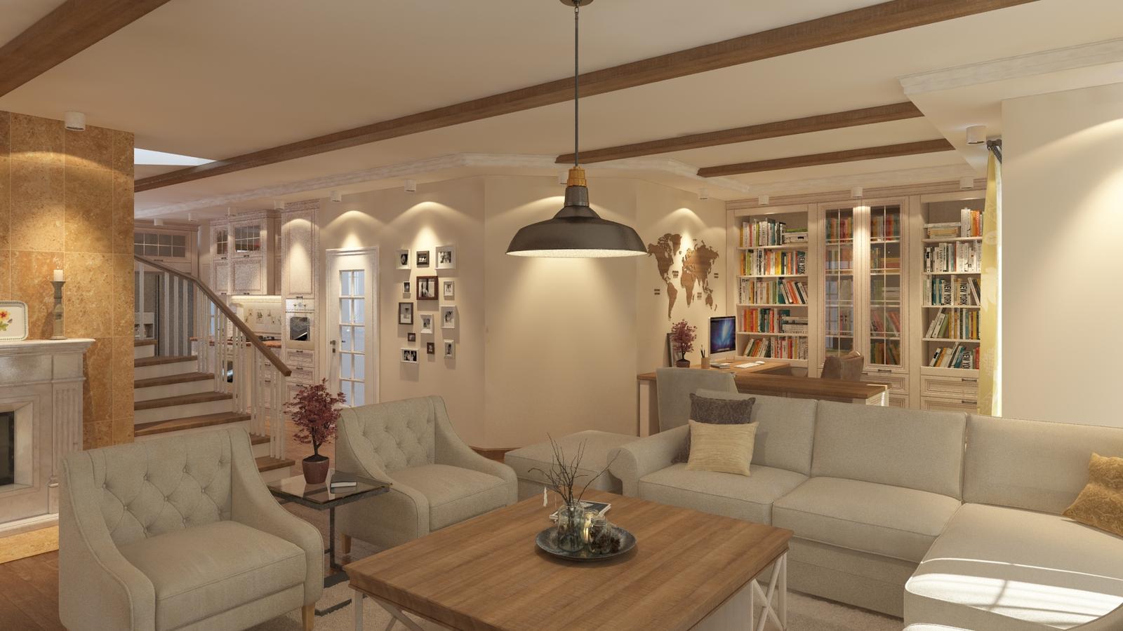Návrh interiéru rodinného domu - Obrázok č. 2