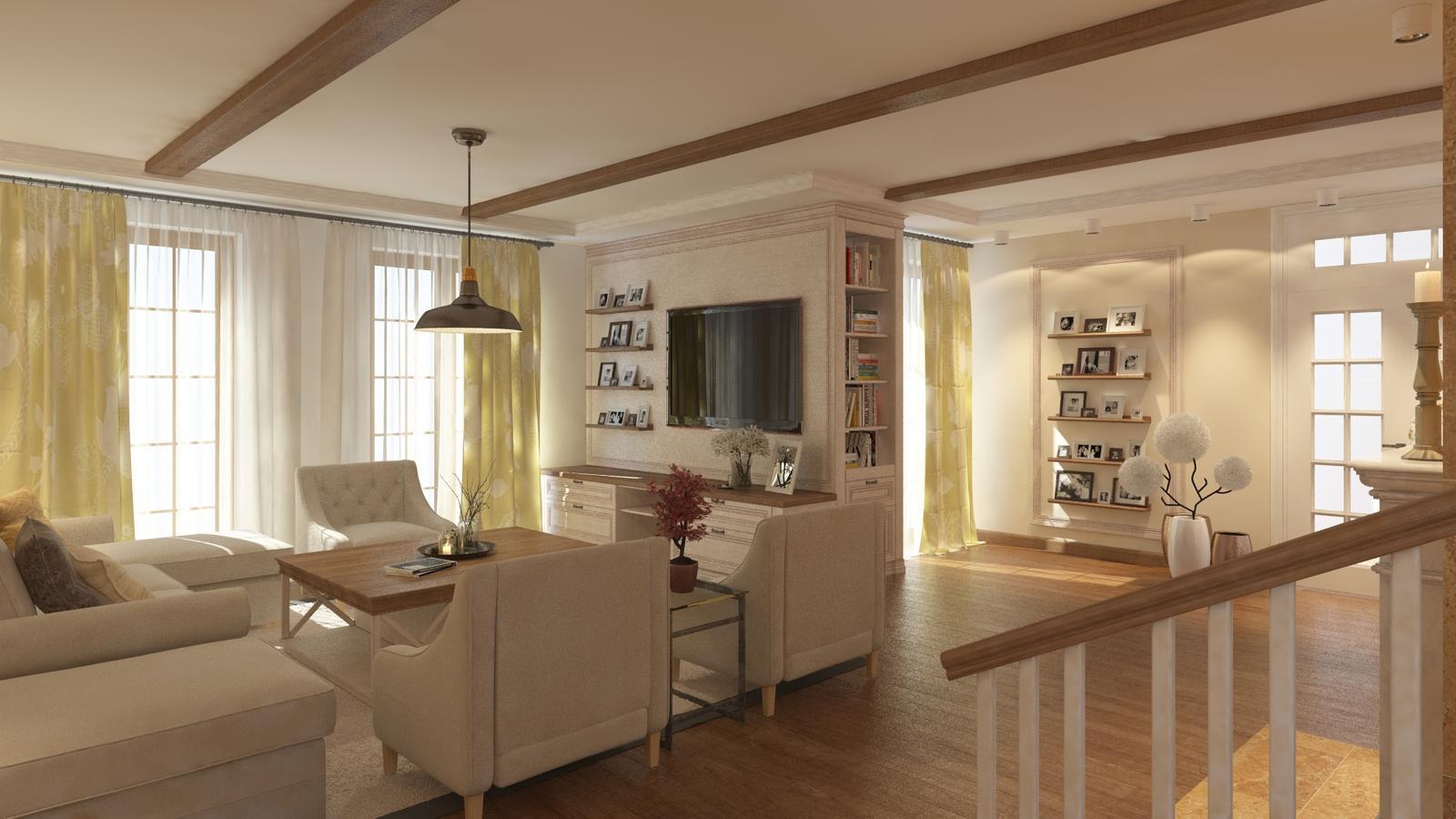 Návrh interiéru rodinného domu - Obrázok č. 3