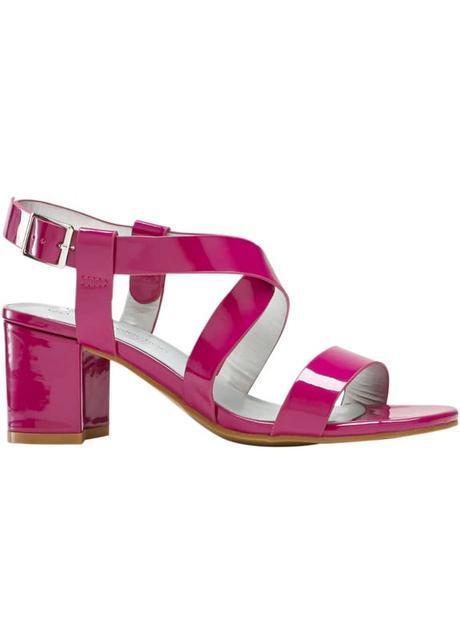 Sandály na podpatku  - Obrázek č. 1