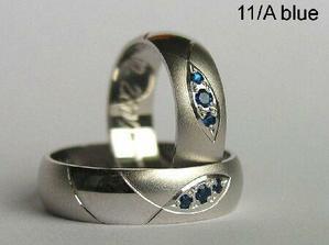 prstienky chceme z bieleho zlata a tieto su č.1 aj s týmito kamienkami sú nádherné
