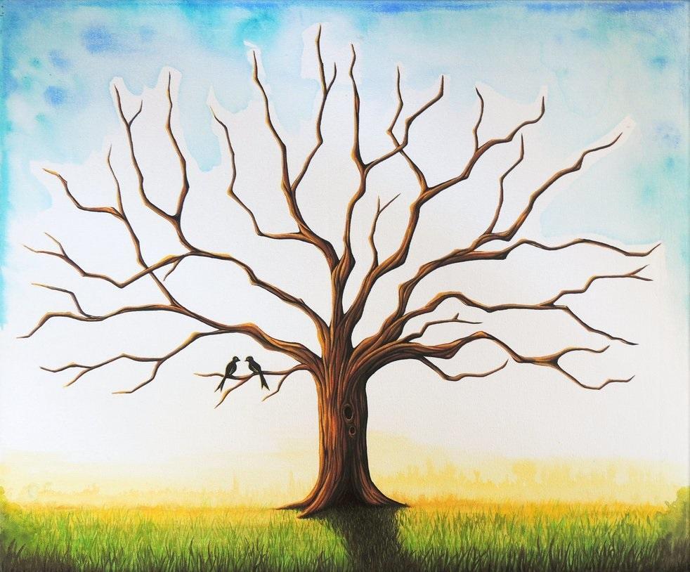 Aj my sa musíme pripraviť na náš veľký deň - NAŠE PRÍPRAVY :-) - Svadobný strom prianí :-) Tento u mňa vyhral