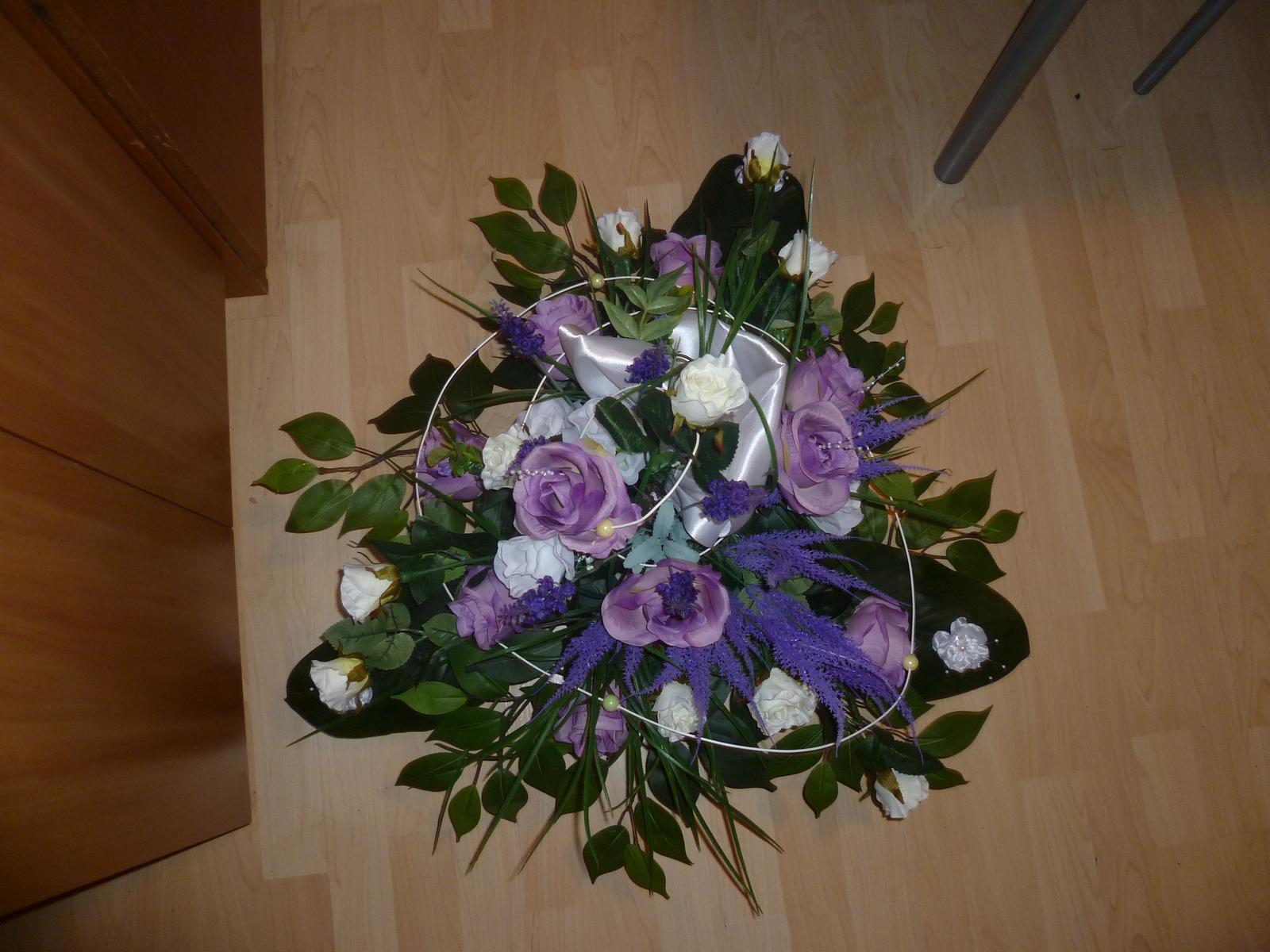 Aj my sa musíme pripraviť na náš veľký deň - NAŠE PRÍPRAVY :-) - Ikebana na hlavný stôl