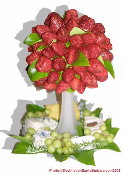 MY WEDDING IDEAS - jahodovy strom