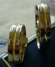 Naše snubni prsteny