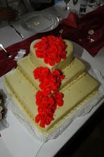 ... svatební dort ...