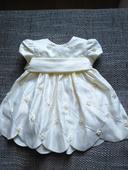 Slavnostní šatičky Cinderella pro miminko, 68