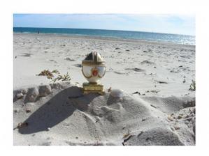 Moje krasne zasnuby na plazi v Australii