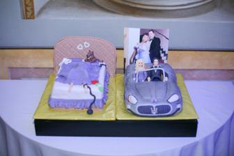 Prekvapenie pre nas od Martuski a Renki,dakujeme ,torta bola nadherna a chutna