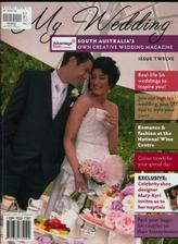 Nasa svadba je opublikovana v jednom Australskom svadobnom casopise