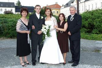 Moji rodicia a Ajkova manina.