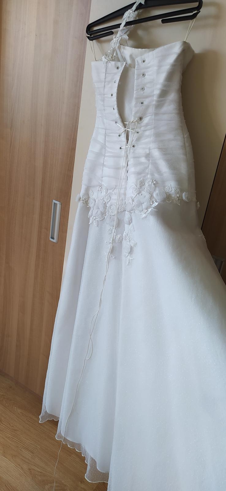 Romantické svadobné šaty - Obrázok č. 4