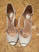 Svatební boty bílé , 38
