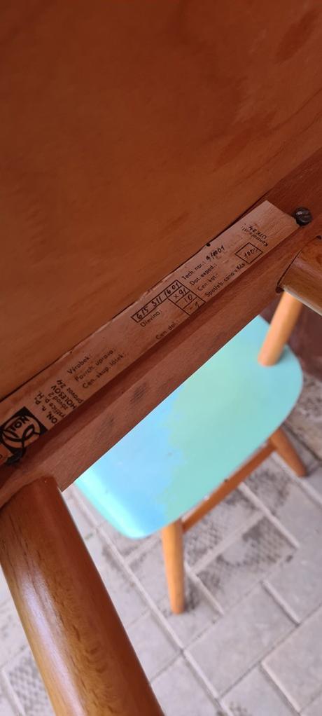 modré stoličky TON - Obrázok č. 2