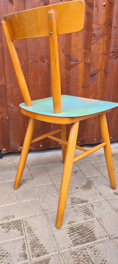 modré stoličky TON - Obrázok č. 3