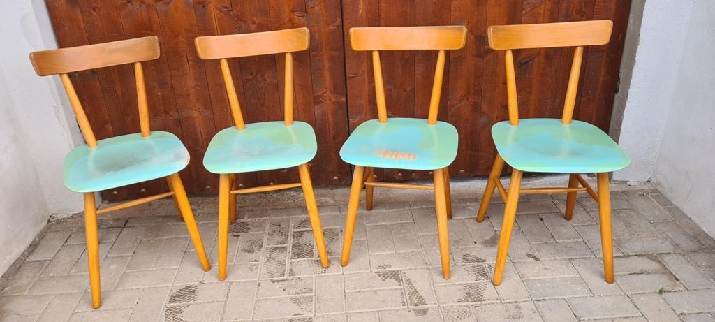 modré stoličky TON - Obrázok č. 1