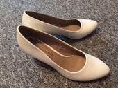 Tamaris bílé svatební boty, vel. 39, 39