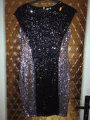 Flitrové šaty, 38