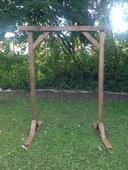 Dřevěná slavobrána,