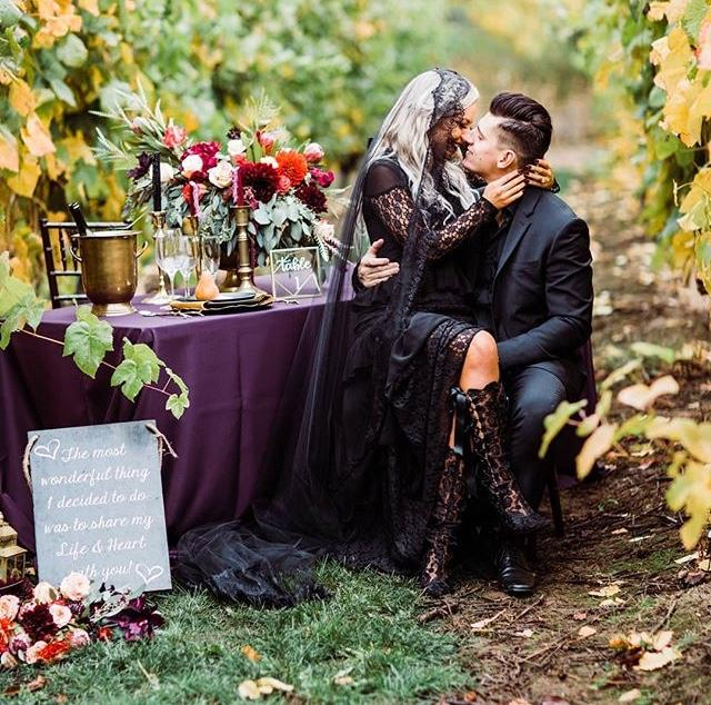Halloween wedding ❤️ - Obrázek č. 76